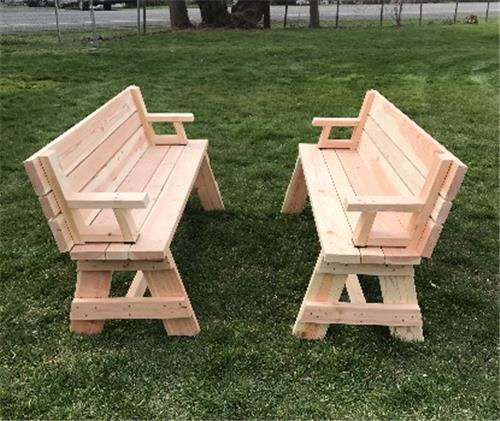 Transforming Picnic Table Gorgenet Classifieds - Ready to assemble picnic table